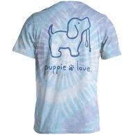 Puppie Love Women's Tie Dye #4 Pup Short-Sleeve T-Shirt
