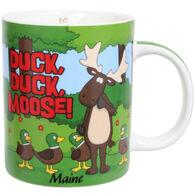Cape Shore Maine Duck, Duck, Moose! Shore Mug