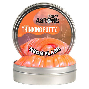 Crazy Aarons Mini Neon Flash Electric Thinking Putty - 0.47 oz.