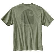 Carhartt Men's Workwear C Logo Graphic Pocket Short-Sleeve T-Shirt