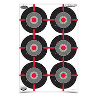 "Birchwood Casey Dirty Bird 12"" x 18"" Multiple Bull's-Eye Target - 8 Pk."