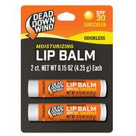 Dead Down Wind Broad Spectrum SPF 30 Lip Balm - 2 Pk.