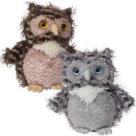 Mary Meyer Fab Fuzz Owl Stuffed Animal - Assorted