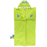 Lazy One Kids Dinosaur Critter Hooded Blanket