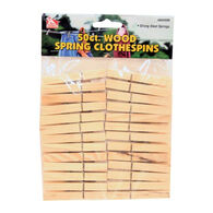 Wilcor Wood Spring Clothespin - 50 Pk.