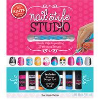 Klutz Nail Style Studio Book Kit by Eva Steele-Saccio