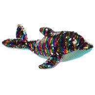 "Aurora Sea Sparkles 11"" Rainbow Dollyphin Stuffed Animal"