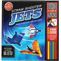 Klutz Straw Shooter Jets Craft Kit by The Editors of Klutz