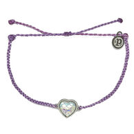 Pura Vida Bracelets Women's Mermaid Heart Charm Bracelet