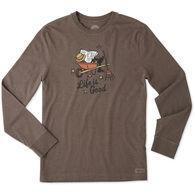 Life is Good Men's Fall Guy Crusher Long-Sleeve T-Shirt