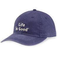 Life is Good Men's LIG Branded Chill Cap - Darkest Blue