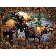 Rivers Edge Moose Ensamble Cutting Board