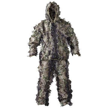 Hot Shot Gear Jacob Ash Mens 3D Leafy Camouflage Hunting Suit, 2-Piece