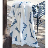 Manual Woodworkers & Weavers Lighthouse Rayon Throw