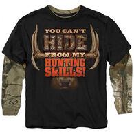 Buck Wear Boys' Can't Hide Long-Sleeve Shirt