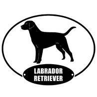 Sticker Cabana Labrador Sticker