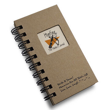 """Journals Unlimited """"Write it Down!"""" Mini-Size Hunting Journal"""