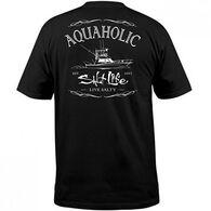 Salt Life Men's Aquaholic Short-Sleeve T-Shirt