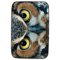 Fig Design Women's Great Horned Owl RFID Wallet