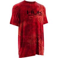 Huk Kryptek Solid Short-Sleeve Inset T-Shirt