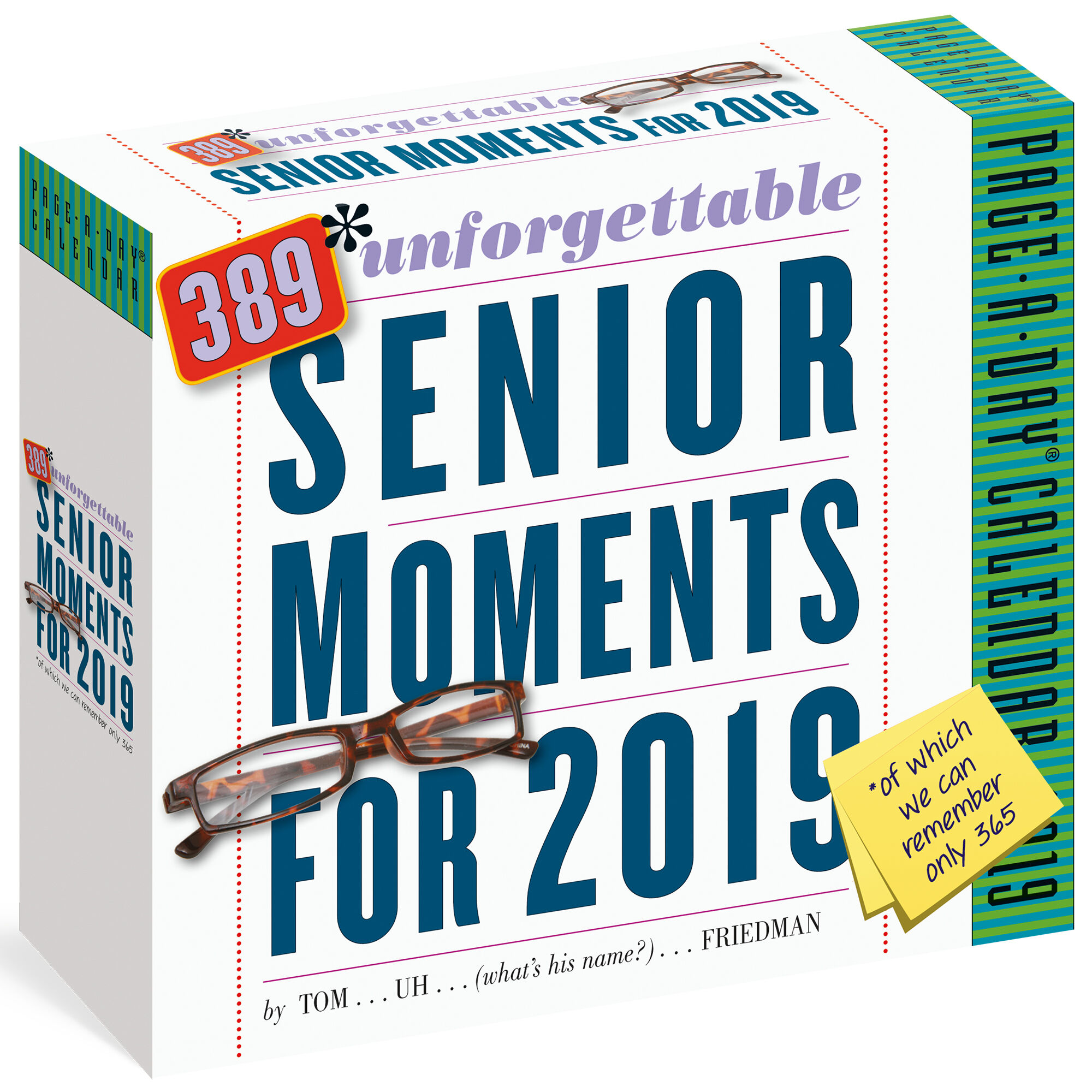 graphic regarding Page a Day Calendar named 389 Memorable Senior Periods 2019 Webpage-A-Working day Calendar as a result of