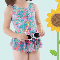 Hula Star Girls' Rose Tango Swimsuit