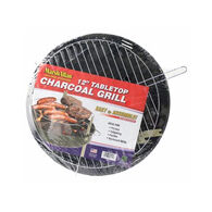 """Wilcor Marsh Allen 12"""" Tabletop Charcoal Grill"""