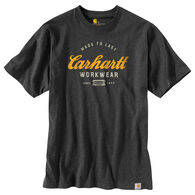 Carhartt Men's Big & Tall Original Fit Heavyweight Made to Last Graphic Logo Short-Sleeve T-Shirt