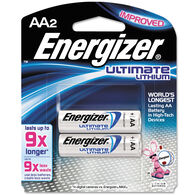 Energizer Ultimate Lithium AA Battery - 2 Pk.