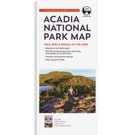 Acadia National Park Map by Appalachian Mountain Club Books