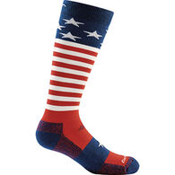 Darn Tough Vermont Boy's Captain Stripes Jr. Over The Calf Light Sock