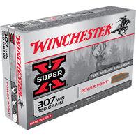 Winchester Super-X 307 Winchester 180 Grain Power-Point Rifle Ammo (20)