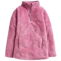 Joules Girl's Ellie Half-Zip Fleece Pullover