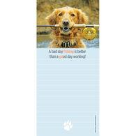 Pumpernickel Press Fishing Buddy Magnetic List Notepad