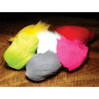 Hareline Deer Belly Hair Dyed Over White Fly Tying Material