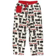 Lazy One Women's Ruff Night Dog PJ Pant