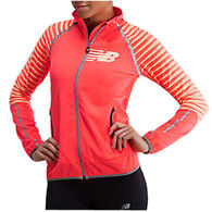 New Balance Women's Hi-Visibility Beacon Jacket