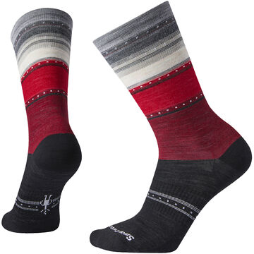 SmartWool Womens Sulawesi Stripe Crew Sock - Special Purchase