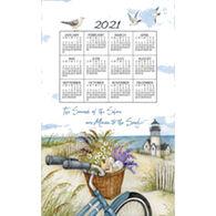 Kay Dee Designs 2021 Seashore Calendar Towel