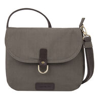Travelon Anti-Theft Courier Saddle Crossbody Bag
