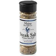 Maine Sea Salt Steak Salt Refillable Shaker