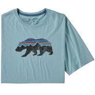 Patagonia Men's Fitz Roy Bear Organic Cotton Short-Sleeve T-Shirt