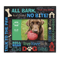 """Prinz More Than Words Dog Picture Frame - 4"""" x 6"""""""