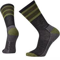 SmartWool Men's Striped Hike Light Crew Sock