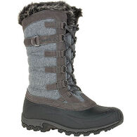 Kamik Women's Snowvalley Waterproof Insulated Winter Boot