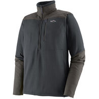 Patagonia Men's Long-Sleeved R1 Fitz Roy 1/4-Zip Fleece