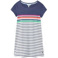 Joules Girl's Riviera Short-Sleeve Dress