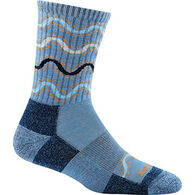 Darn Tough Vermont Women's Wandering Stripe Micro-Crew Light Cushion Sock