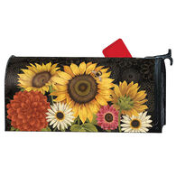 MailWraps French Flowers Magnetic Mailbox Cover