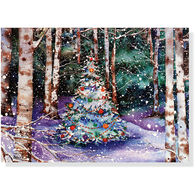 Peter Pauper Press Festive Forest w/Keepsake Box Deluxe Holiday Cards
